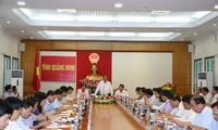 Phó Thủ tướng Trương Hòa Bình lkiểm tra công tác cải cách hành chính tại Quảng Ninh