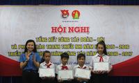 Quỹ Doraemon trao 536 suất học bổng cho học sinh giỏi của 63 tỉnh thành