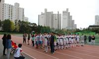 Du học sinh Việt tại Hàn tổ chức giải bóng đá gây quỹ cứu trợ đồng bào miền Trung