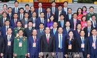 Chủ tịch nước Trần Đại Quang gặp mặt đoàn đại biểu ngành Than và tỉnh Quảng Ninh