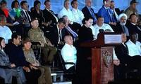 Chủ tịch Quốc hội Nguyễn Thị Kim Ngân dự lễ tưởng niệm Lãnh tụ Cuba Fidel Castro Ruz