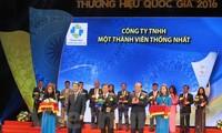 Lễ công bố các doanh nghiệp đạt Thương hiệu Quốc gia lần thứ 5