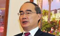 Chủ tịch Ủy ban Trung ương Mặt trận Tổ quốc Việt Nam gửi thư chúc mừng Giáng sinh giáo dân