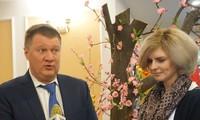 Bạn bè Nga với Tết Việt