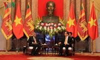 Chủ tịch nước: Việt Nam coi trong quan hệ và hợp tác nhiều mặt với Sri Lanka