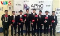 Việt Nam đoạt Huy chương vàng Olympic Vật lý Châu Á lần thứ 18