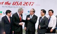 """Hội nghị """"Gặp gỡ Hoa Kỳ 2017"""" một lần nữa khẳng định mối quan hệ hợp tác toàn diện Việt Nam- Hoa Kỳ"""