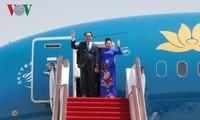 Chủ tịch nước kết thúc chuyến thăm chính thức LB Nga và CH Belarus