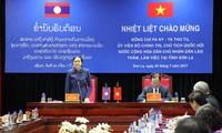 Chủ tịch Quốc hội Lào thăm và làm việc tại Sơn La