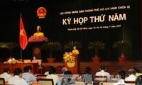 Khai mạc kỳ họp thứ 5 Hội đồng nhân dân Thành phố Hồ Chí Minh khóa IX
