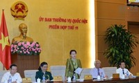 Khai mạc phiên họp thứ 12 Ủy ban Thường vụ Quốc hội