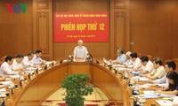 Phiên họp lần thứ 12 Ban Chỉ đạo Trung ương về phòng chống tham nhũng