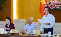 Ủy ban thường vụ Quốc hội cho ý kiến về dự án Luật quốc phòng (sửa đổi)