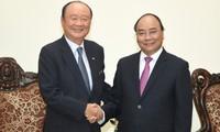 Tập đoàn Charmvit (Hàn Quốc) cam kết là nhà đầu tư lâu dài tại Việt Nam