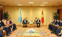 Việt Nam coi trọng vai trò trung tâm của Liên hợp quốc trong xây dựng hệ thống luật pháp quốc tế