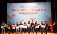 Tôn vinh hoạt động xã hội vì cộng đồng tiêu biểu của các tổ chức thanh niên