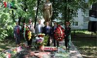 Gặp gỡ cựu chiến binh Việt Nam-Ukraine sau 73 năm chiến thắng phát xít