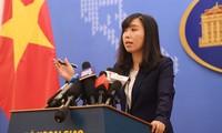 Việt Nam phản đối Trung Quốc tiến hành diễn tập quân sự ở quần đảo Hoàng Sa
