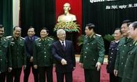 KPV-Generalsekretär bei der Parteikonferenz der Armee