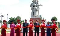 Einweihung einer vietnamesisch-kambodschanischen Gedenkstätte