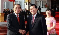 Rückblick auf Laos-Besuch von Staatspräsidenten Truong Tan Sang