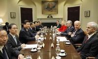 Die USA und China pflegen ihre Beziehungen