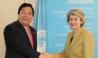Vietnam unterstützt den Reformprozess der Unesco