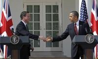 Die USA und Großbritannien tagen im Weißen Haus