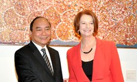 Vizepremierminister Nguyen Xuan Phuc besucht Australien