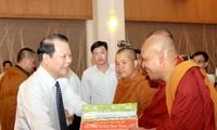 Glückwünsche für Khmer-Volksgruppe zum Neujahrsfest