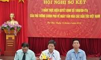 """Rückblick auf das Programm des """"Kulturtags der Volksgruppen Vietnams"""""""