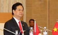 Premierminister Nguyen Tan Dung nimmt am Japan-Mekong-Gipfel teil