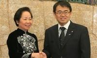 Vize-Staatspräsidentin Nguyen Thi Doan besucht Japan