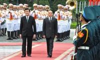 Der kambodschanische König Norodom Sihamoni zu Gast in Vietnam