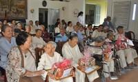Die Stadt Da Nang unterstützt die Betreuung von Senioren