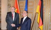 Parlamentspräsident zu Gast in Deutschland
