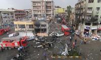 Bombenanschlag an der Grenze zwischen der Türkei und Syrien