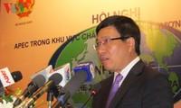 Konferenz: APEC in der asiatisch-pazifischen Region im 21. Jahrhundert