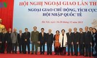 Abschlussveranstaltung der Konferenz für auswärtige Angelegenheiten