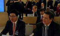 Vietnam beteiligt sich am Gipfeltreffen des UN-Menschenrechtsrates in Genf