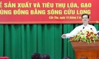 Konferenz über Produktion und Handel von Reis im Mekong-Delta
