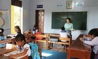 Zweite Schule auf der Truong Sa-Inselgruppe gebaut
