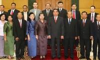 Die freundschaftlichen Beziehungen zwischen Vietnam, Laos und Kambodscha vertiefen