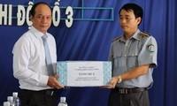 Vietnamesische Fischereischutzkräfte sind entschlossen, Hoheitsgewässer zu verteidigen
