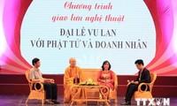 Karitatives Kunstprogramm: Vu Lan-Fest für Buddhisten und Unternehmer