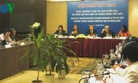 Treffen zwischen der nationalen Kommission für Klimawandel und der Weltbank