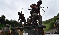 Nordkorea fordert Südkorea zum Stopp des Manövers