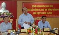 Vize-Premierminister Nguyen Xuan Phuc zu Gast in Ha Tinh