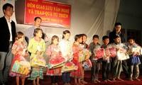 Die Kinder in Vietnam feiern Mittherbstfest