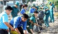 Die Kampagne für eine saubere Welt im Jahr 2014 begrüßen